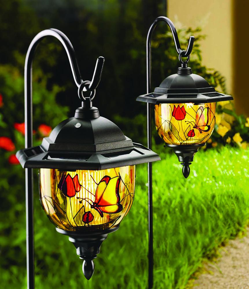Buy Solar Powered Tiffany Hanging Lights at