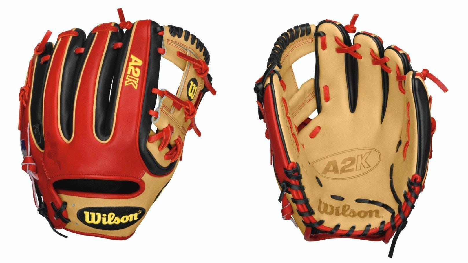 2015 Wilson A2k Datdude Baseball Glove Brandon Phillips Black And Red