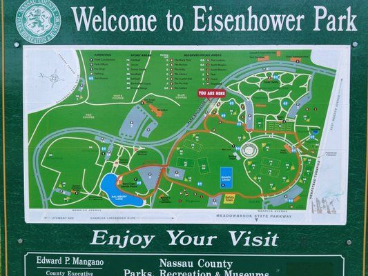 Eisenhower Park Map Map of Eisenhower Park | ✈ Oh! The Places You Can Go! ✈ | East