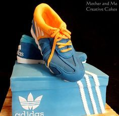 And By Shoes Creative Mother Me Cake Running CakesMona 2IYWDHeE9