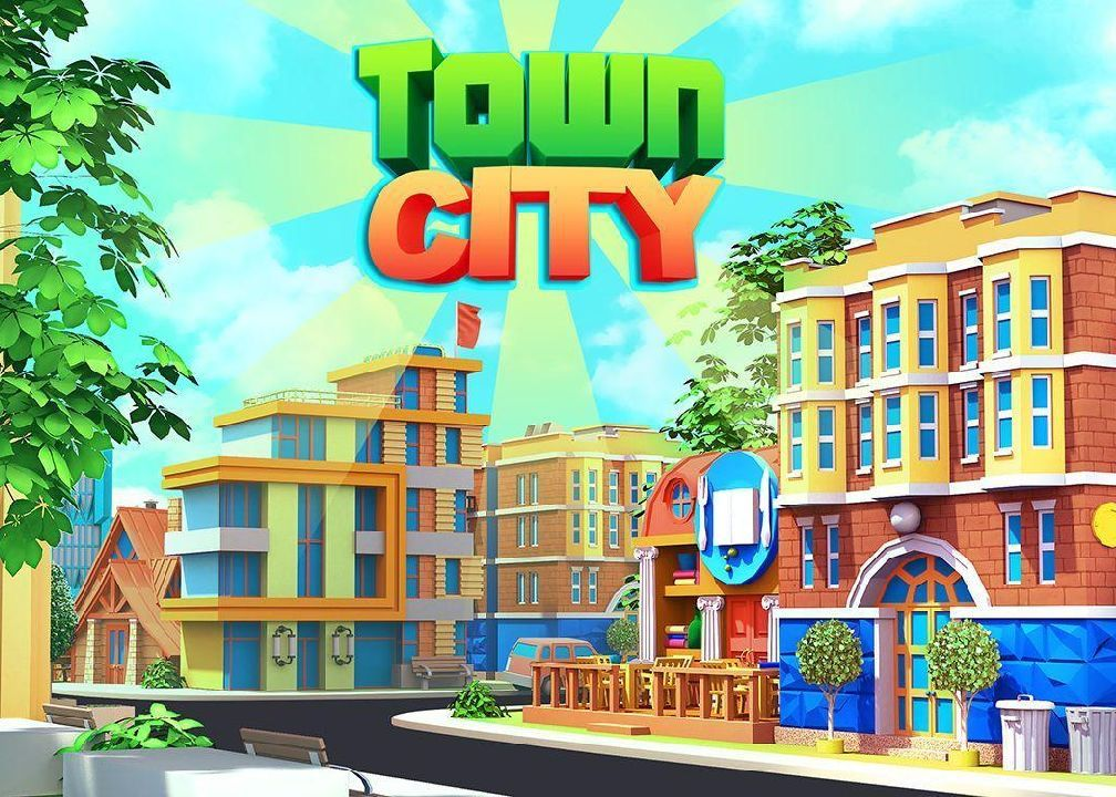 Town City Village Building Sim Paradise Game 4 U Money Mod Download Apk City Building Game City City Hacks