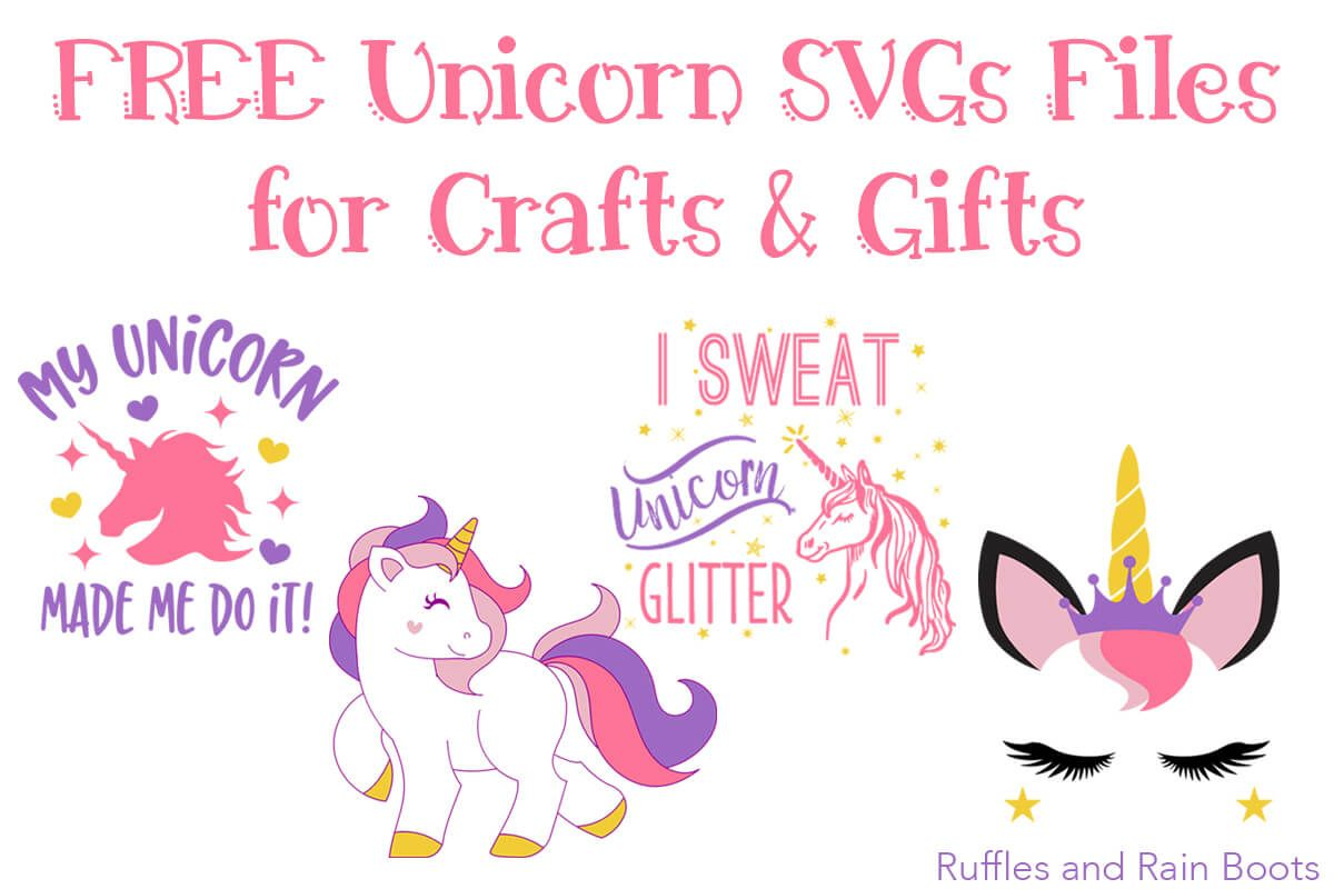 Download Free Unicorn SVG Files (You Know You Love Them, Too ...