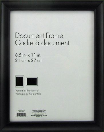 Hometrends Nikolai Black 8 5 X 11 Picture Frame Black Products In 2019 Black Photo Frames Picture Frames Frame