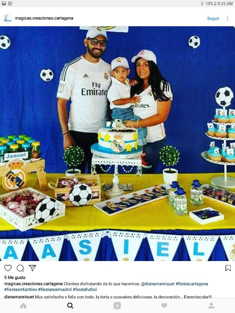 Pin by monica cangre on cumple becker pinterest real madrid soccer theme real madrid babyshower birthday parties parties kids baby sprinkle shower birthday celebrations shower baby anniversary parties thecheapjerseys