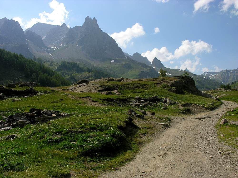 Tal der Clarée, Chalets de Laval (Hautes Alpes) von Denis DONTENVILLE