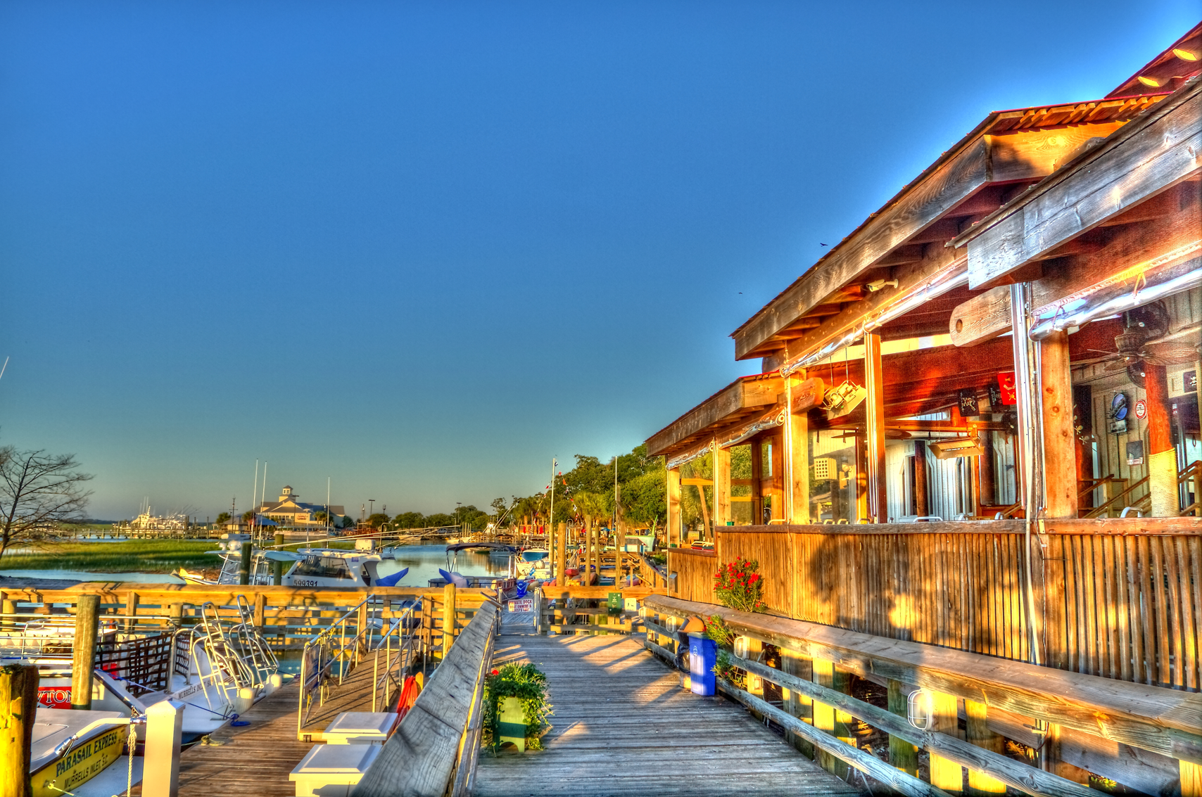 Marshwalk Best Waterfront Dining In The Grand Strand Marina And Boardwalk Murrells Inlet Sc