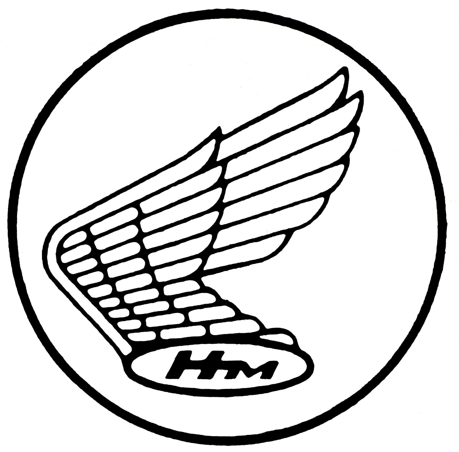 vintage honda logo same one that s on my motorcycle  [ 1747 x 1719 Pixel ]