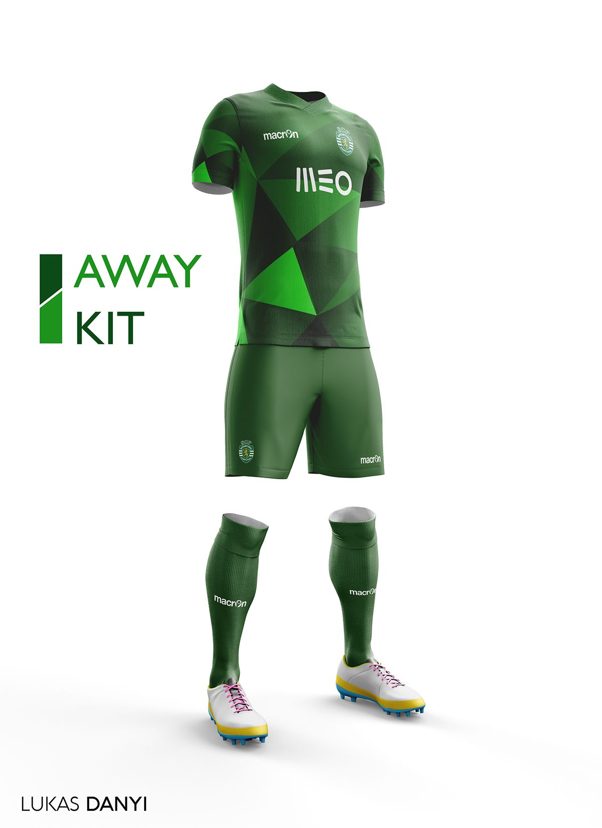 9daacbee392 I designed football kits for Sporting CP for the upcoming season 16 ...