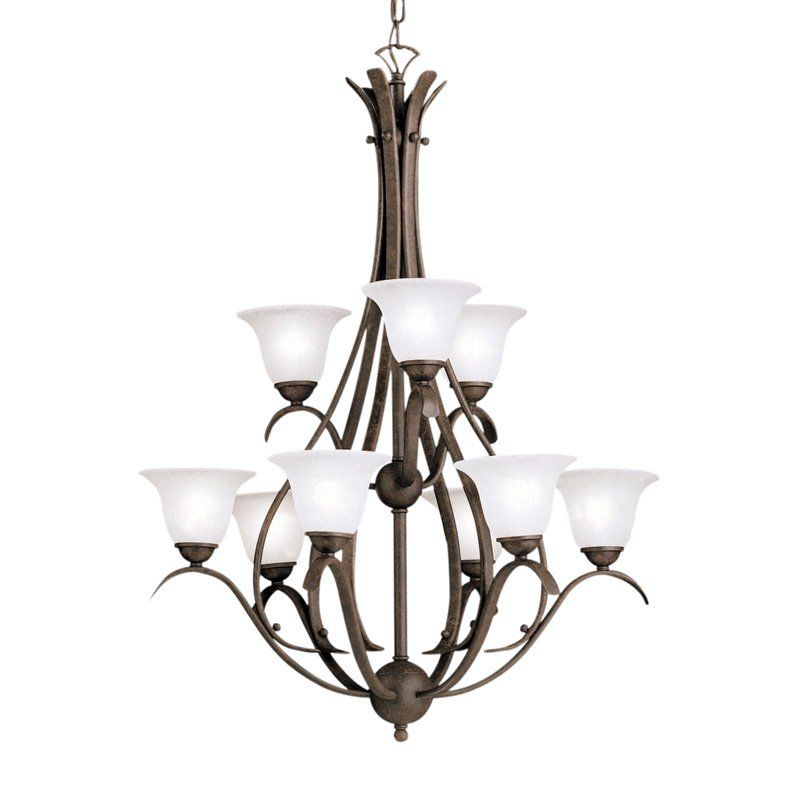 Kichler Dover Chandelier - 29W in. Tannery Bronze   from hayneedle.com