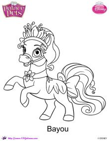 Disney S Princess Palace Pets Free Coloring Pages And Printables