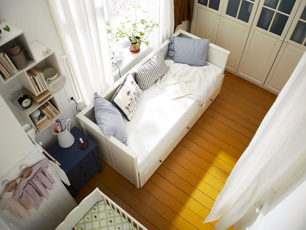 Ideas for a small bedroom from ikea uk a tiny shared bedroom