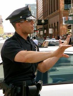 archiotterpup:  Hot cop!