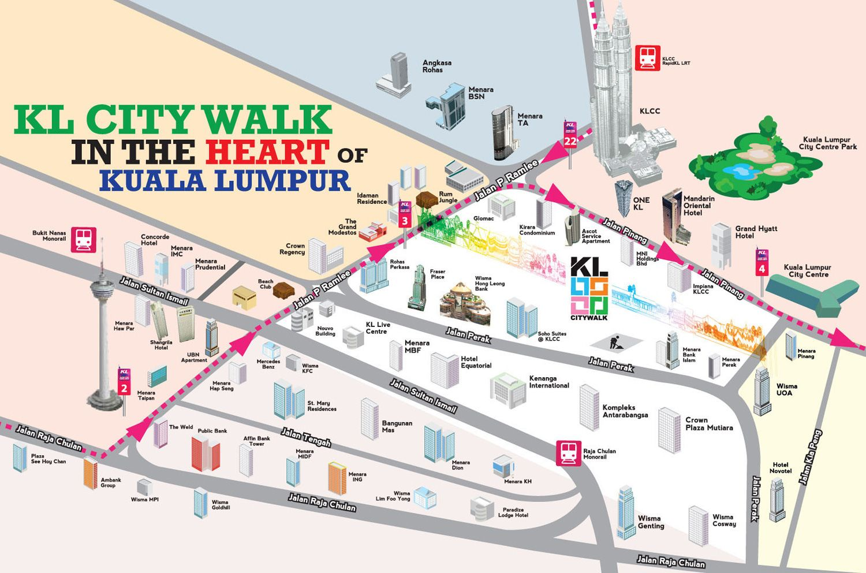 KualaLumpurTouristMapjpg 21021263 Malaysia Pinterest
