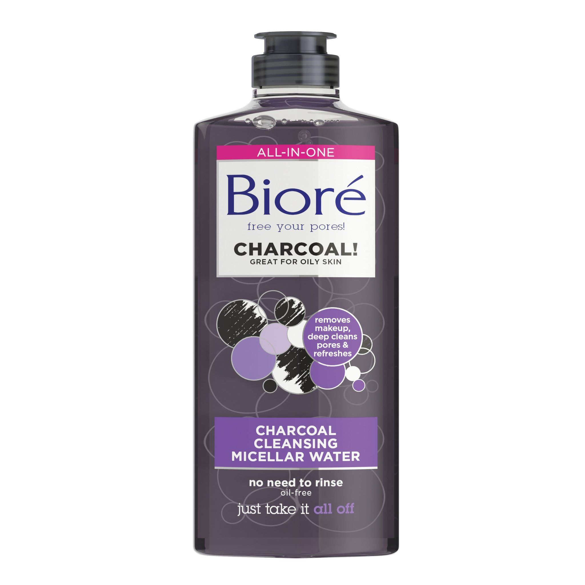 Bioré Charcoal Cleansing Micellar Water Micellar