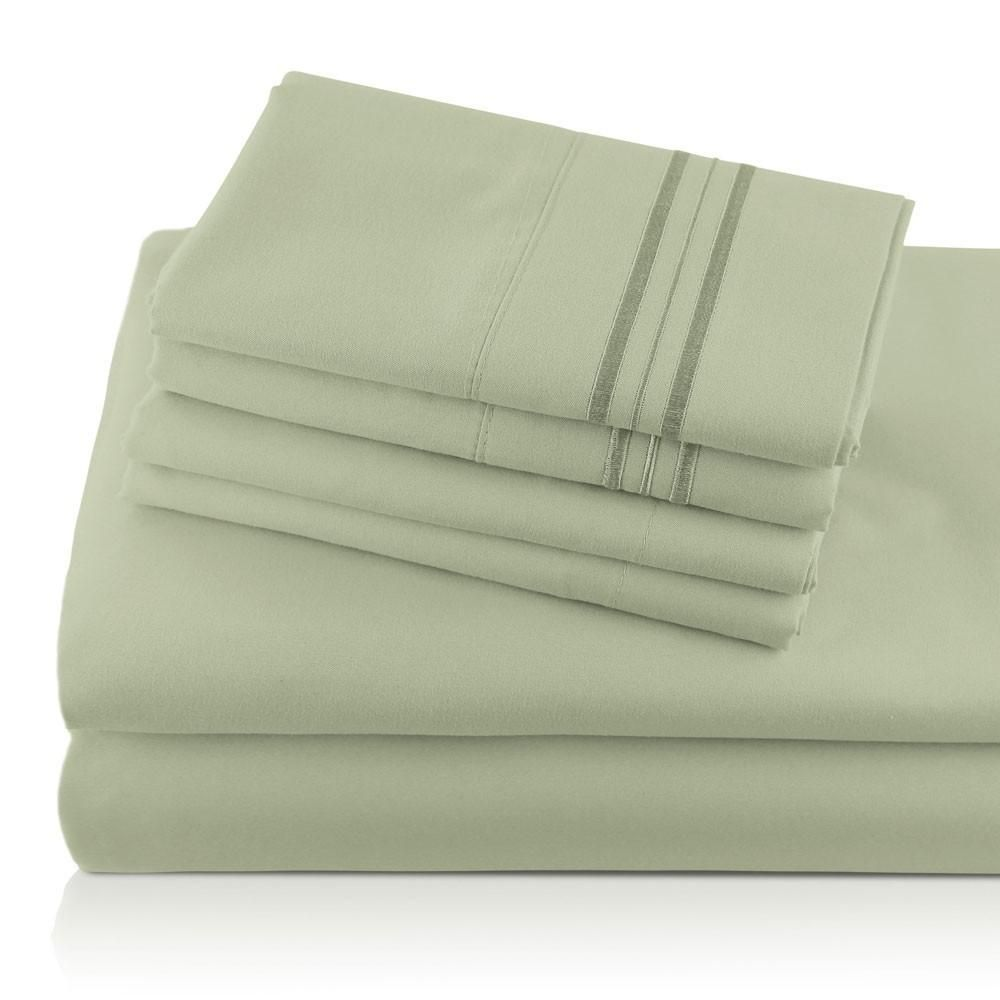 What Is A Bath Sheet Giovanni Monogrammed Egyptian Comfort Sheets 6Piece Set