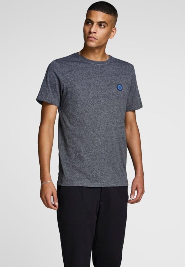 ca658f11cad9e Jack   Jones Basic T-shirt - grey - Zalando.co.uk