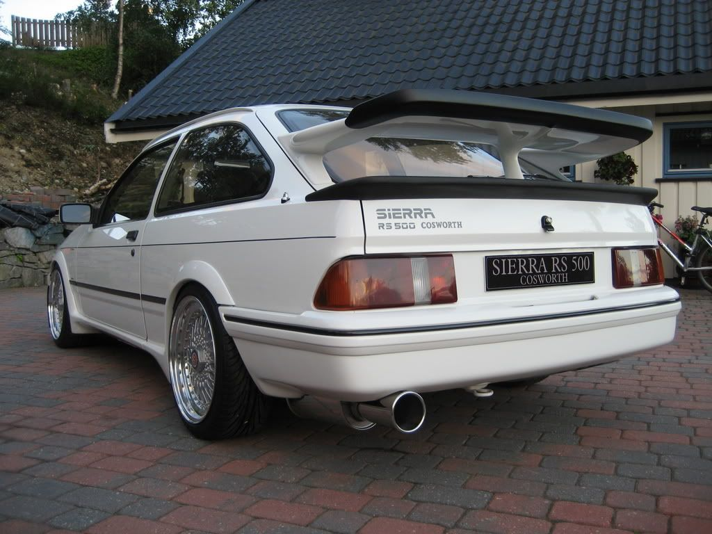 Ford Sierra Rs500 Ford Sierra Ford Motorsport Ford Classic Cars