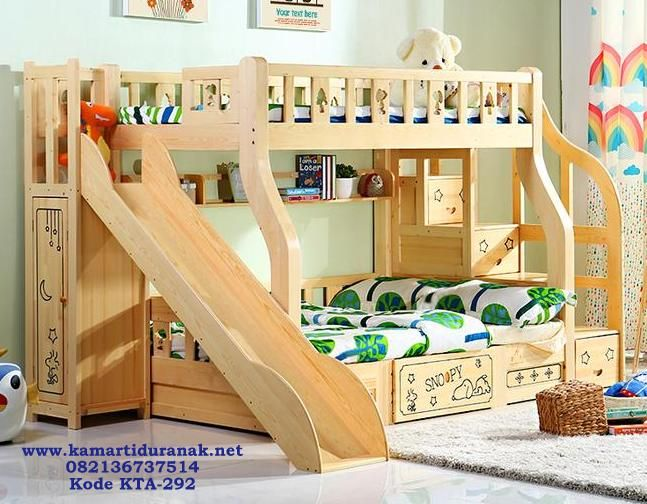 Tempat Tidur Anak Tingkat