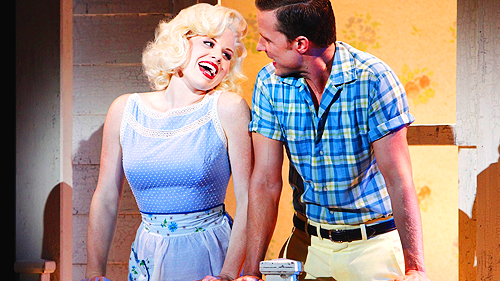Megan Hilty and Will Chase - NBC's Smash.
