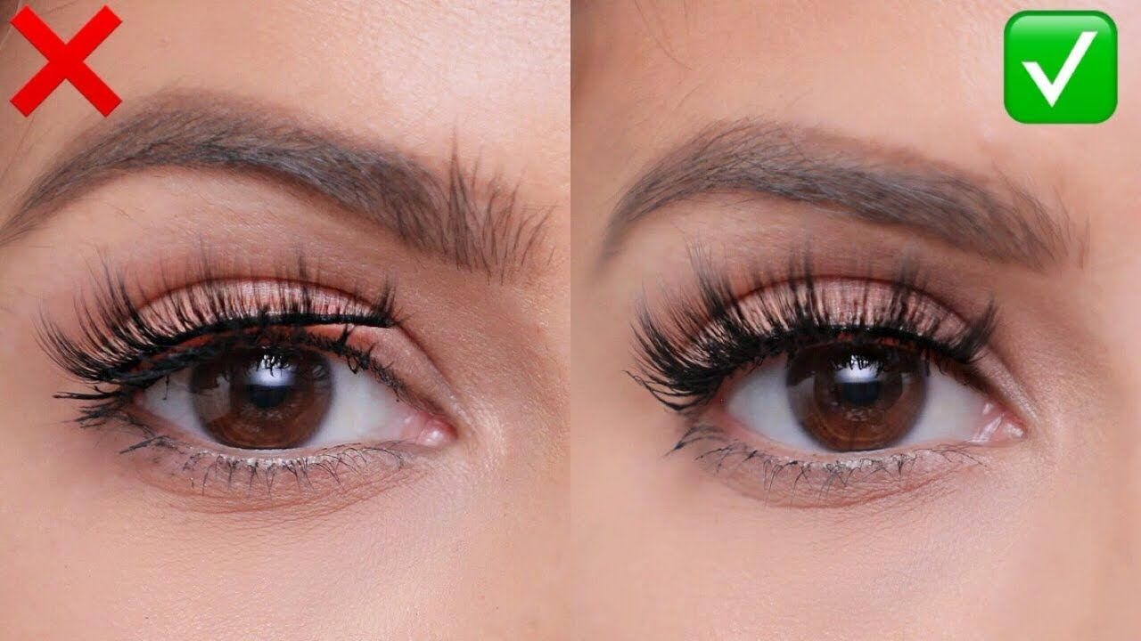 FALSE LASHES Do's and Don'ts For Beginners! YouTube