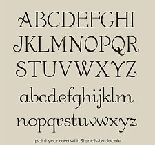 Vintage French Stencils | French Chic Alphabet STENCIL