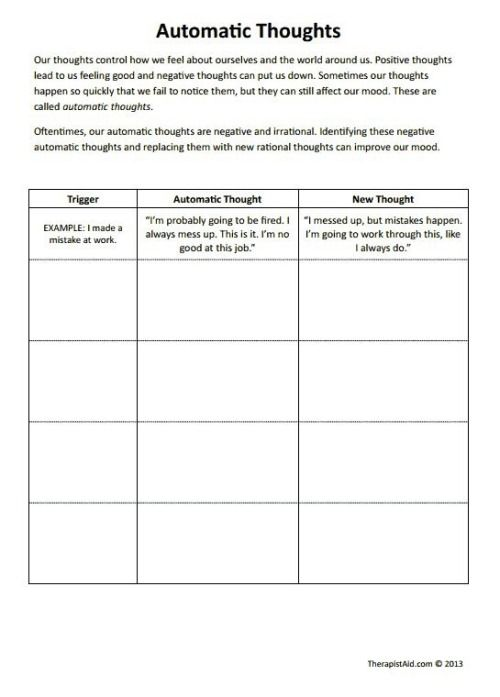 RECOVERY IS BEAUTIFUL   Therapy worksheets, Cbt worksheets ...