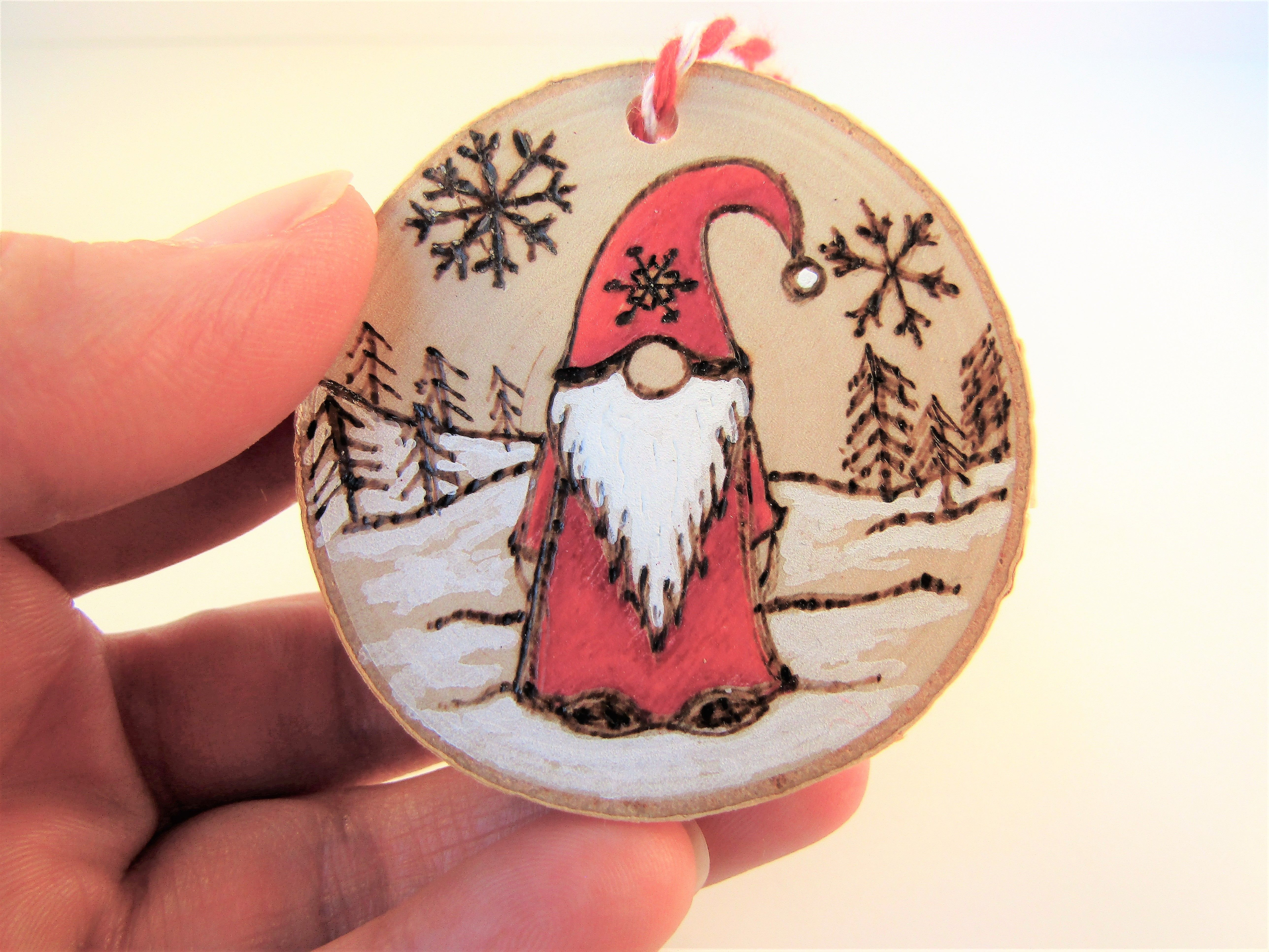 Home Of Creatives Wood Christmas Ornaments Christmas Hanging Decorations Wood Burning Art