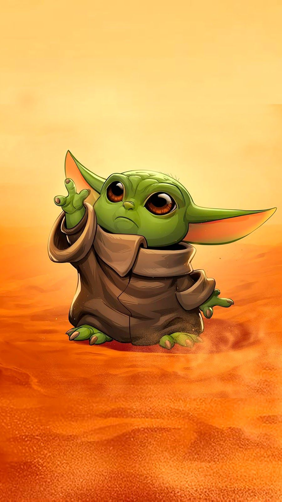"The child ""Baby Yoda"" background wallpapers in 2020 Yoda"