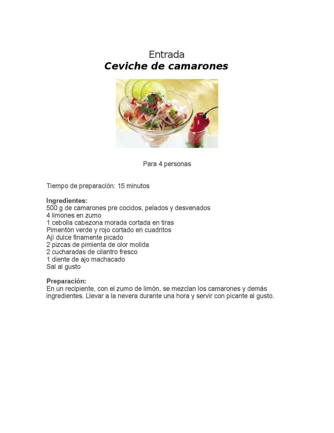 Hermoso recetarios de cocina pdf im genes recetas de los for Pdf de cocina