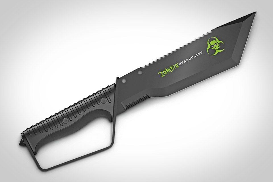 ZOMBIE HEADHUNTER BOWIE KNIFE