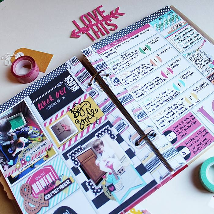 Just Jaimee Ready to Go Planner Templates Planner and Journaling