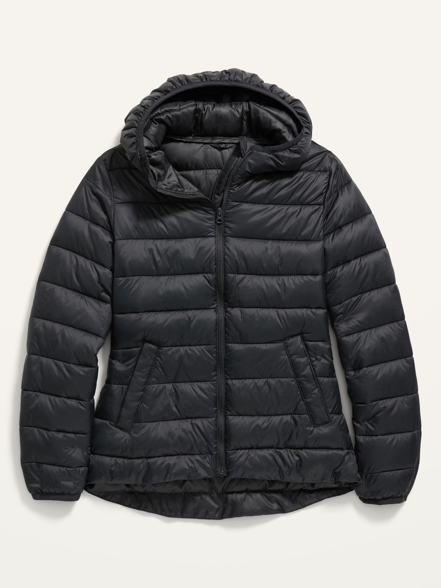 Old Navy Kids Hooded Narrow Channel Puffer Jacket Black Jack Plus Size Xxl Yellow Puffer Jacket Puffer Jacket Outfit Puffer Jacket Black [ 2000 x 1500 Pixel ]