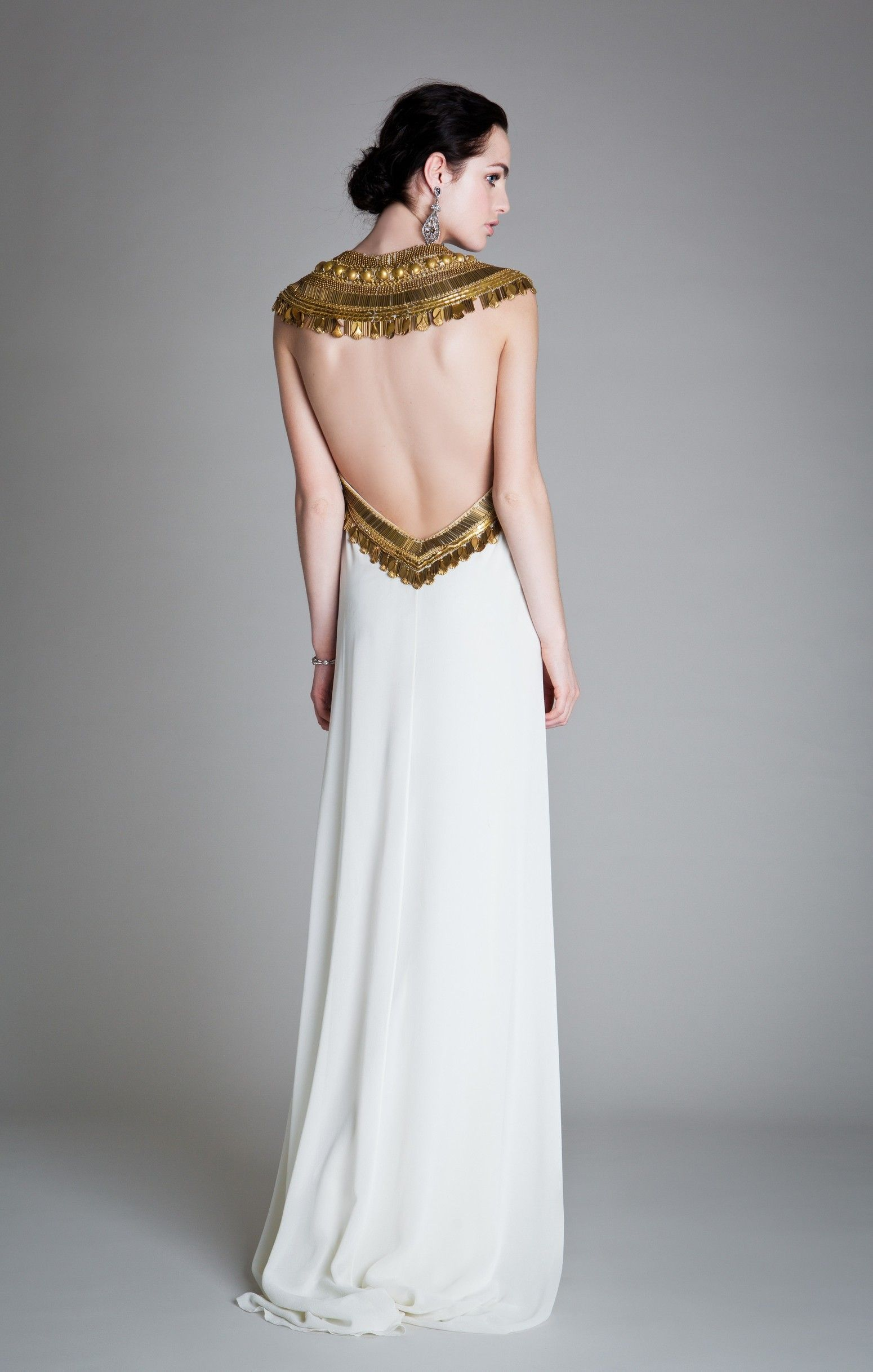 Back of Goddess Dress | outfit ideas for stories | Pinterest ...