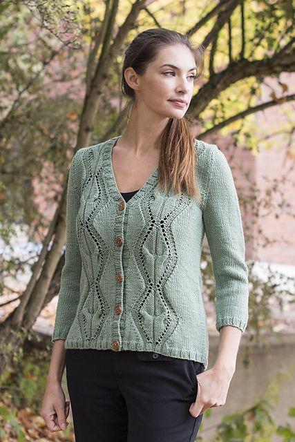 lace cardigan knitting pattern free | I ɭღvє Kŋɪʈʈɪŋg | Pinterest ...
