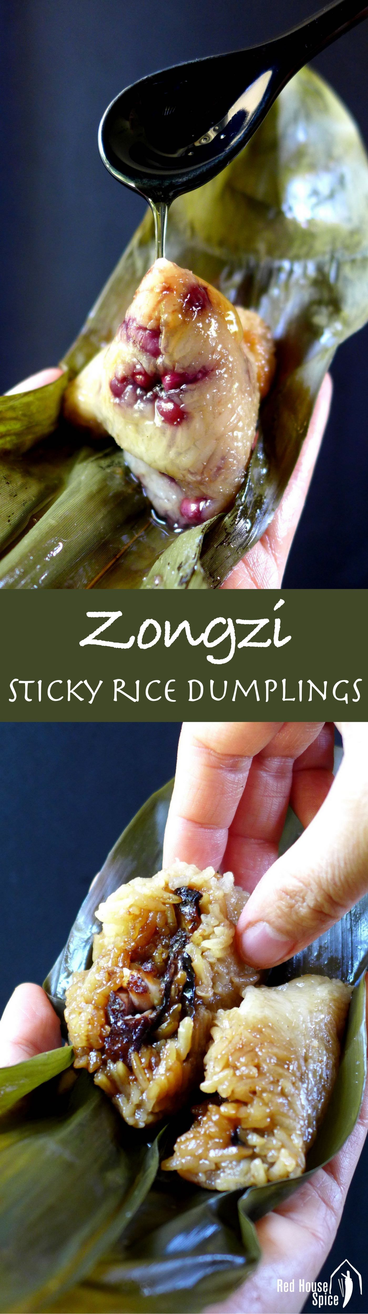 Zongzi: Chinese sticky rice dumpling (粽子)   Recipe ...