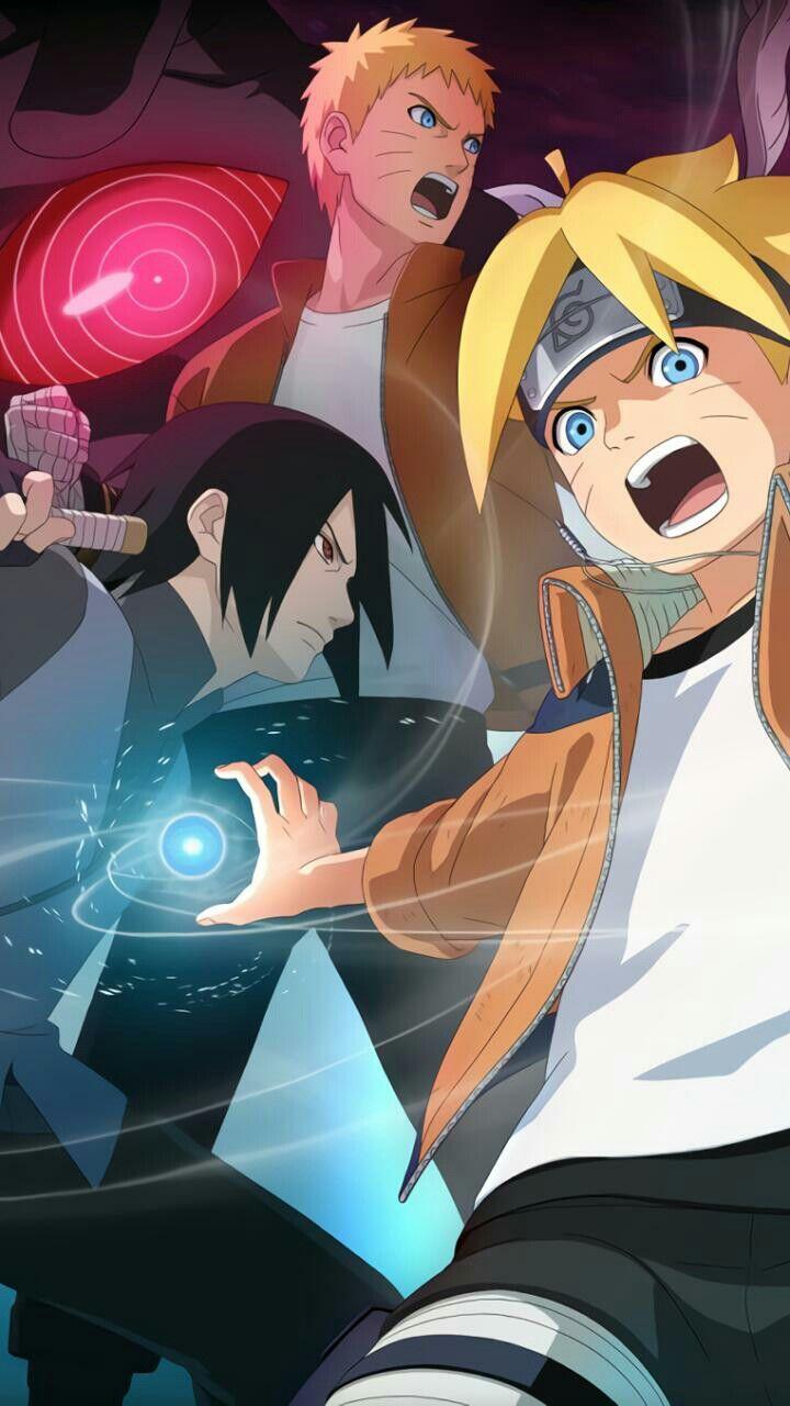 Naruto Sasuke Boruto Gambar Karakter Seni Jepang Animasi