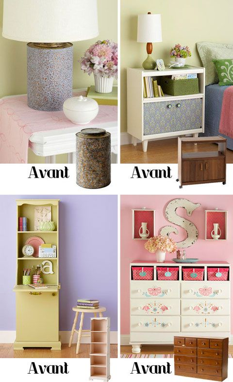 DIY Avant Apres Meuble Repeint