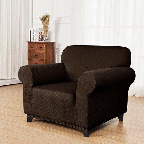 Box Kissen Sessel Schonbezug Ophelia Co Farbe Schokolade