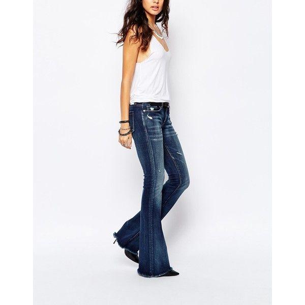 Blank NYC Skinny Bell Bottom Flare Jeans With Raw Hem ($61 ...