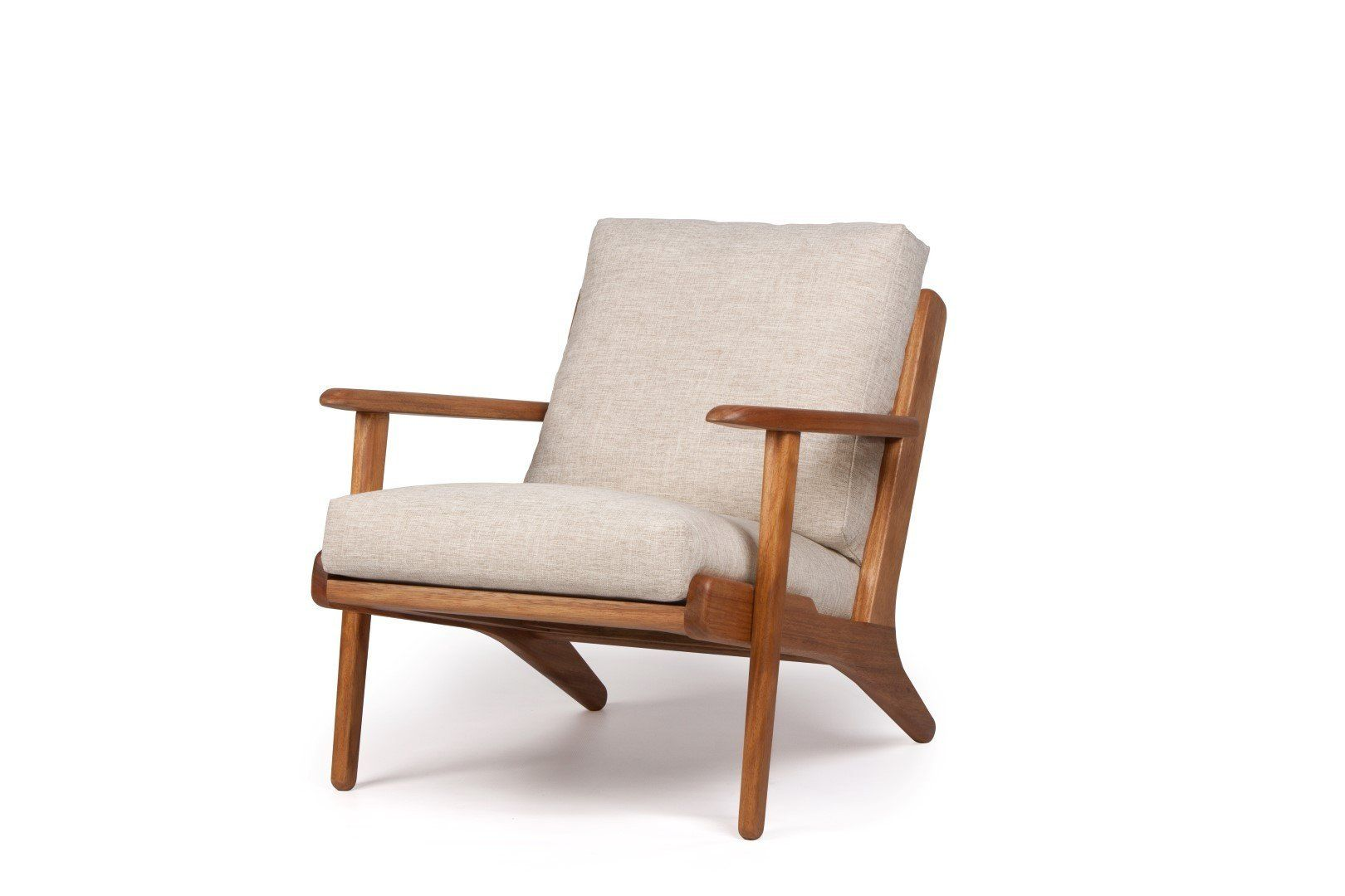 Cushion Seats For Map Arm Chair Tan Leather The Modern