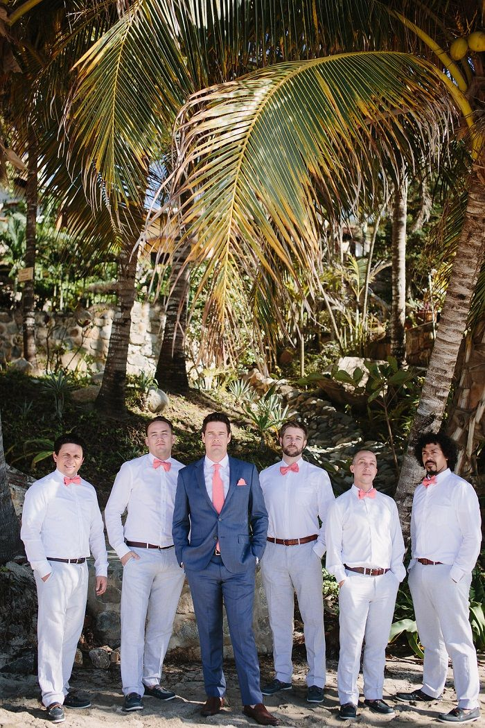 Groom and Groomsmen beach style | Fab Mood