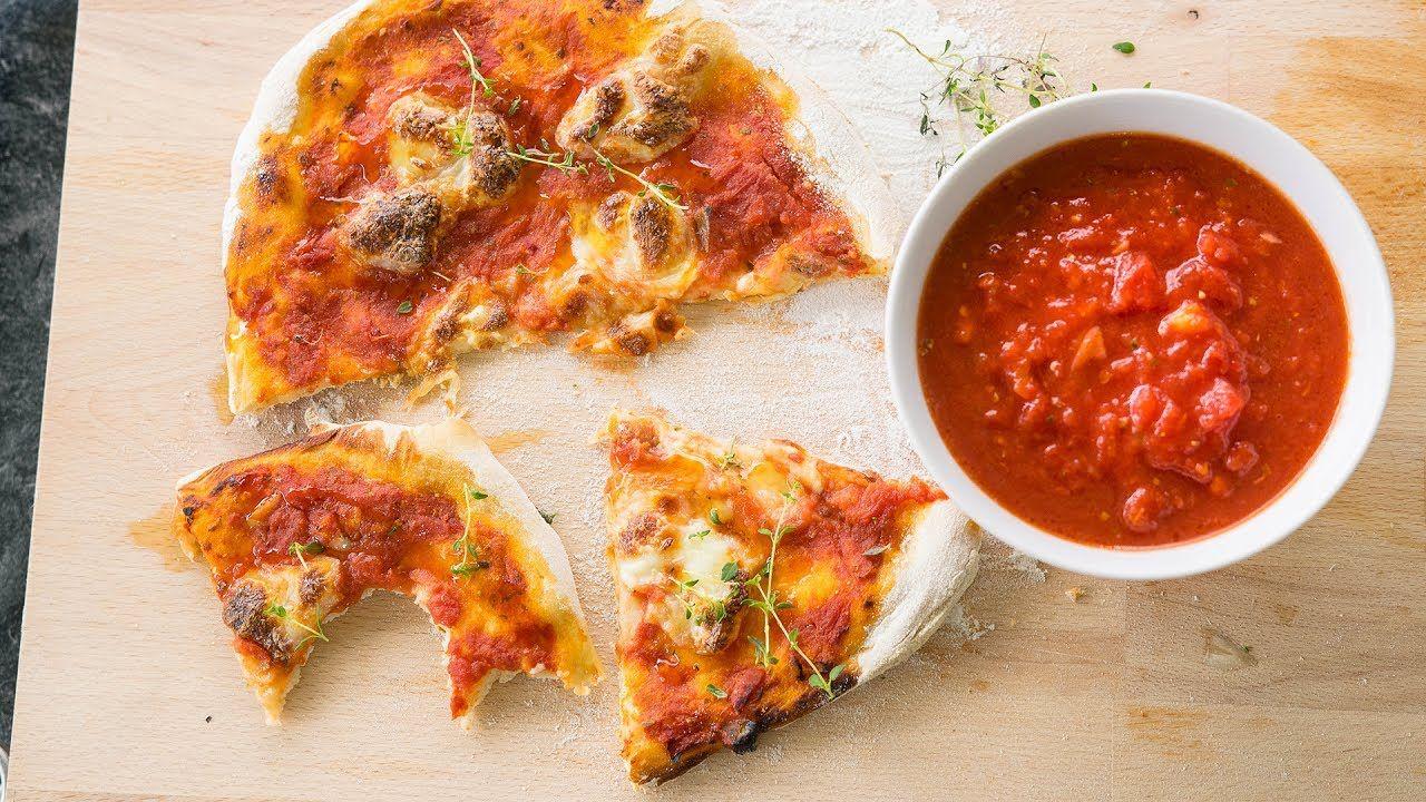 Szybki sos pomidorowy do pizzy