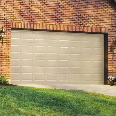 Clopay Classic Collection 16 Ft X 7 Ft Non Insulated Solid White Garage Door Hdb Sw Sol Garage Doors White Garage Doors Garage