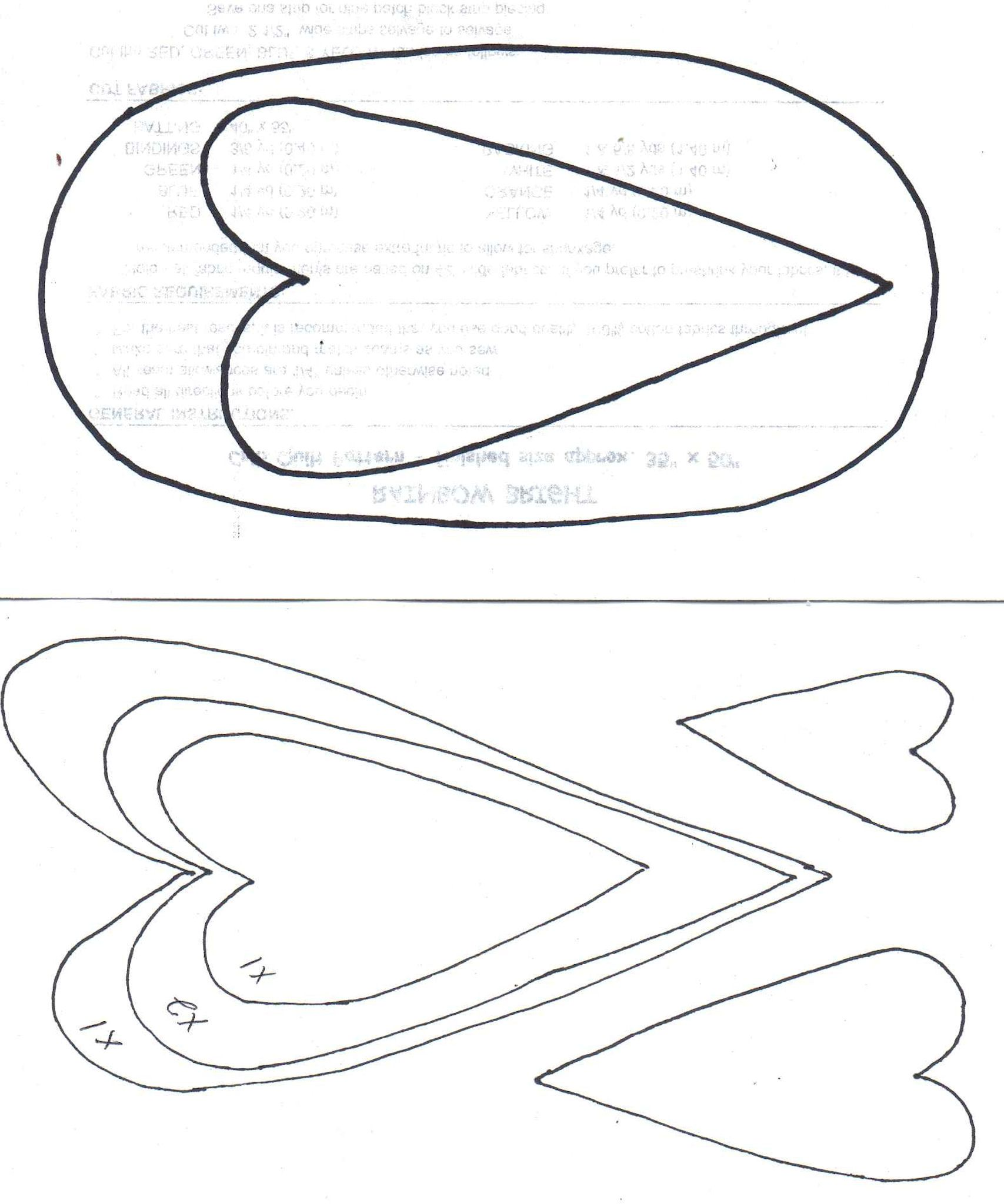 heart template for sewing - heart of hearts templates quilting sewing pinterest