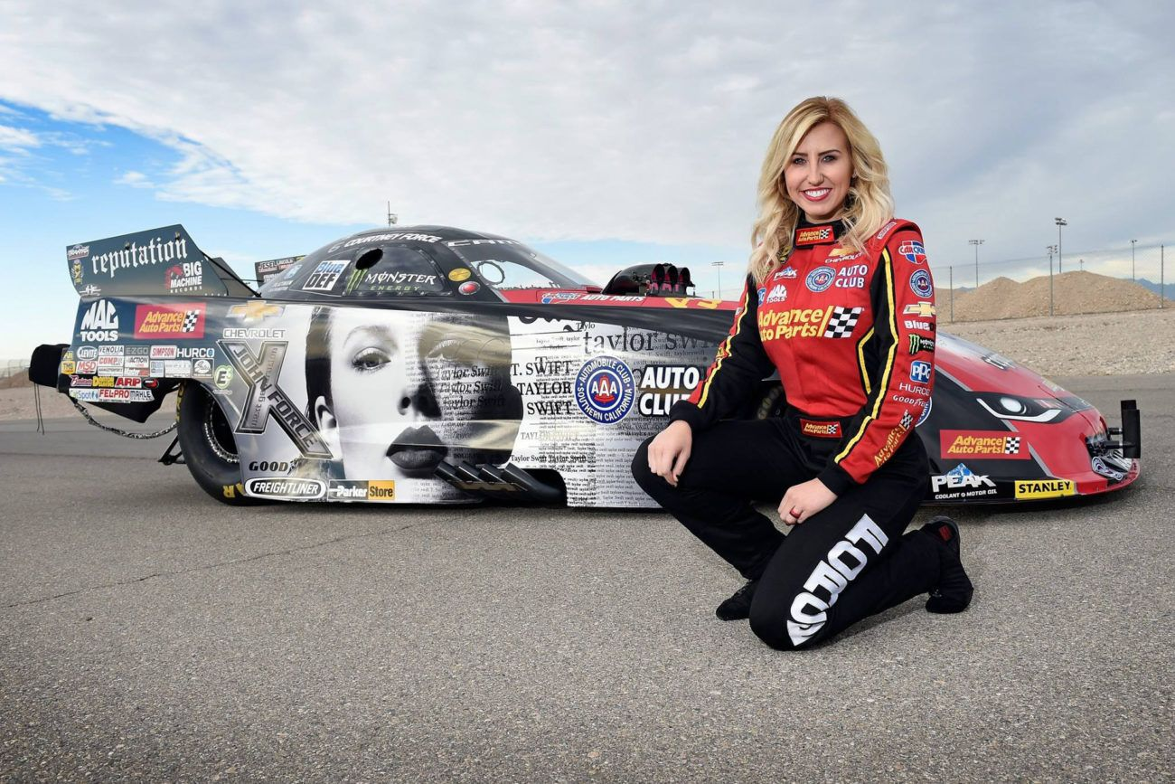 Taylor Swift Drag Racing Car To Be Run By Courtney Force Racing News Drag Racing Cars Female Racers Courtney Force