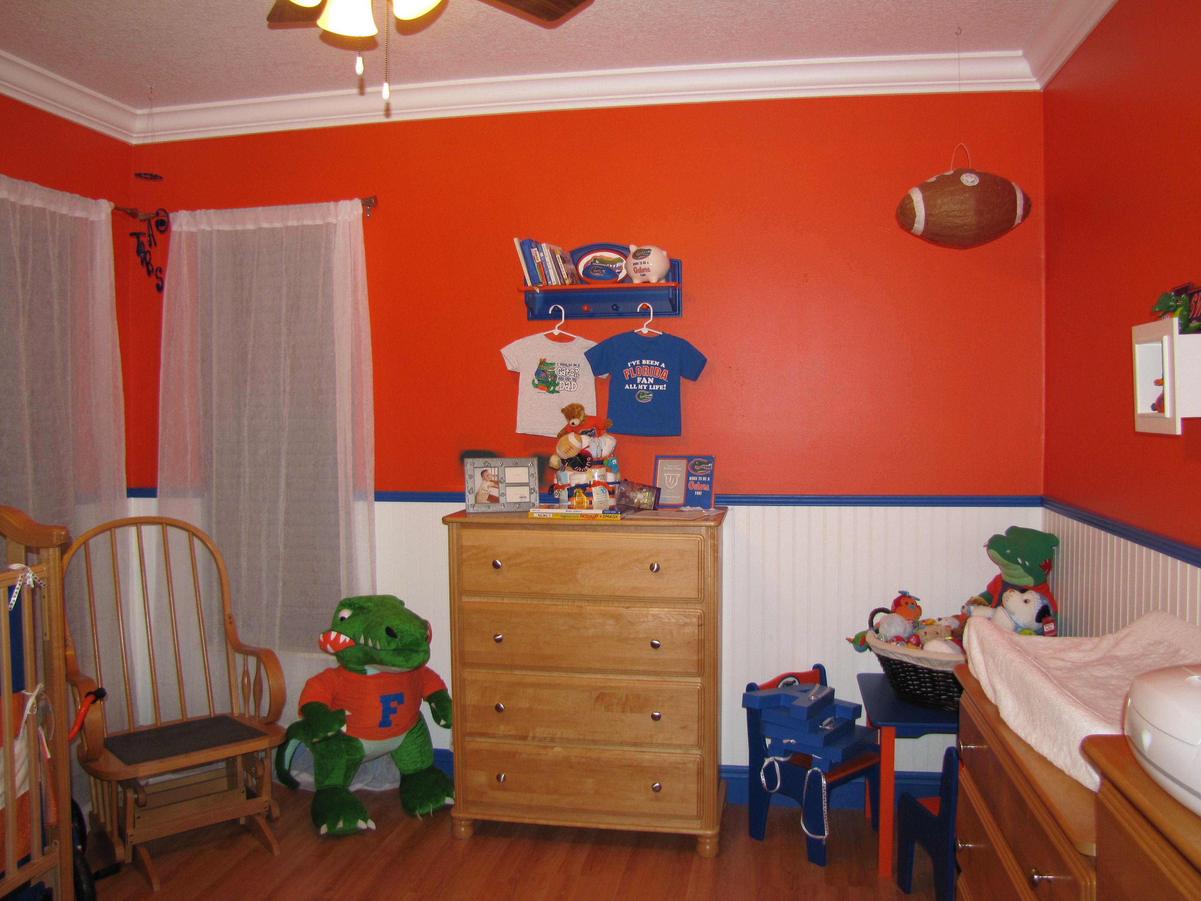 Aiden\'s Florida Gator Nursery 2 | Go Gators! | Pinterest | Nursery ...