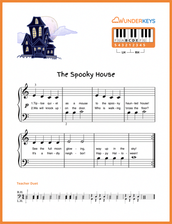 Free Primer-Level Halloween Music? Yes please! | Piano Lessons