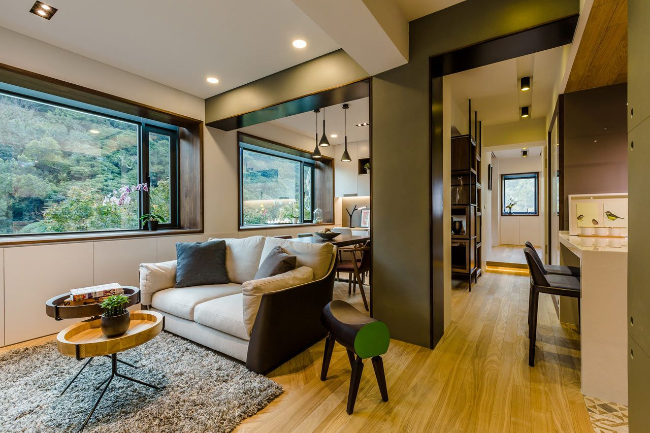 Strikingly Creative Apartment Remodel In Taipei Before After Photos Freshome Com Old Apartments Apartment Renovation Apartment Inspiration