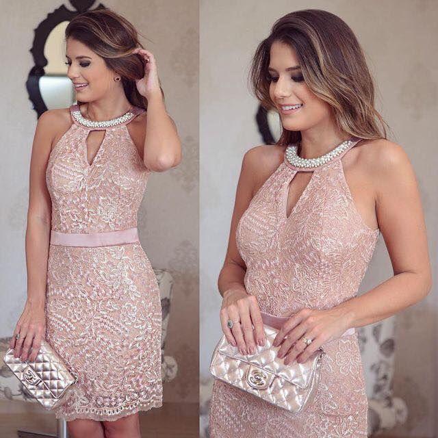 Vestidos Cortos Para Una Cena O Para Cualquier Otra Ocación Vestidos De Encaje Vestidos De Fiesta Vestidos