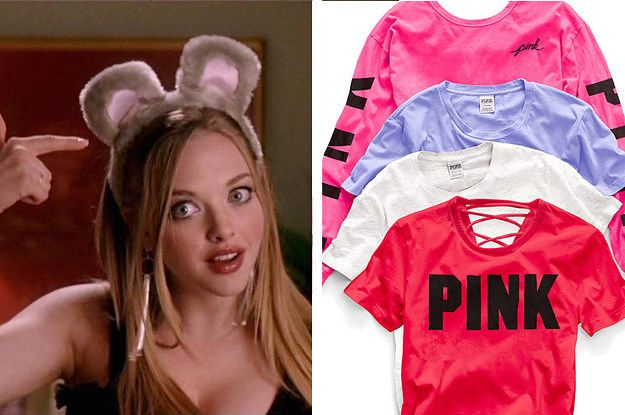Shop At PINK And We'll Reveal Which Mean Girl You Are | QUIZZES